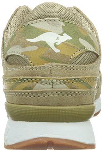 Kangaroos Rage Camouflage, Baskets mode homme Or - Gold (sand 120)