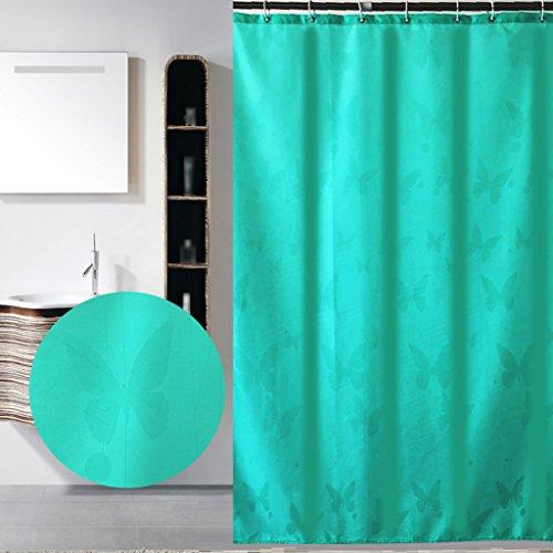 Rideaux de douche Protection imperméable de salle de bains de protection de l'environnement de rideau en douche de polyester de mode confortable Durable ( taille : 180X180CM )