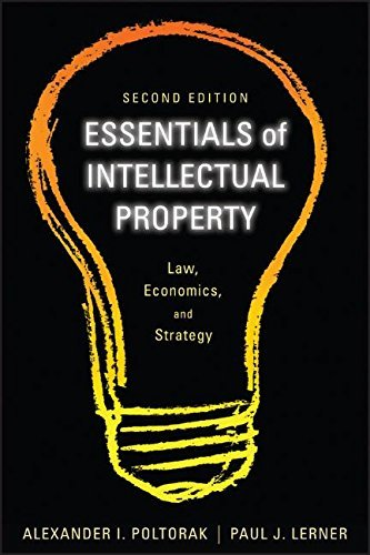 Kindle eBooks Best Sellers Essentials of Intellectual Property: Law, Economics, and Strategy by Alexander I. Poltorak (2011-03-08) FB2