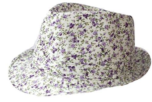 Trendy Designer Fedora sombrero capone sombrero Mafia