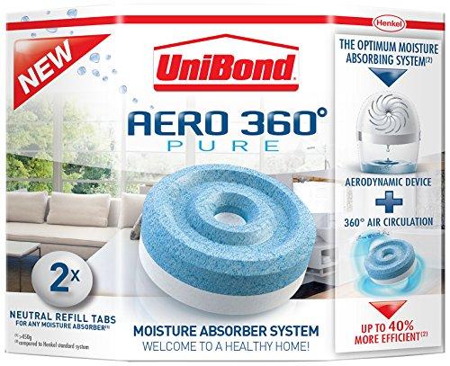 henkel 1807921 unibond aero 360 moisture absorber refills. Black Bedroom Furniture Sets. Home Design Ideas