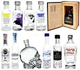 Vodka Probierset - 11 verschiedene Vodka