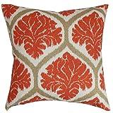 Das Kissen Collection Priya Kissenbezug mit Blumenmuster Russett, orange
