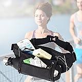 TBoonor Kangaroo Pocket Sports Waterproof Closable Hüfttaschen Waist Pocket Belt Bottle Holder...