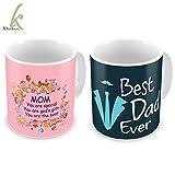 Best Dad Tumblers - Best Mom & Dad Mug Set of 2 Review
