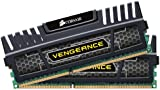Corsair CMZ16GX3M2A1600C10 Vengeance 16GB (2x8GB) DDR3 1600 Mhz CL10 XMP Performance Desktop Memory Kit Black
