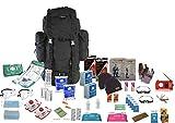 Survival Aids Kit di sopravvivenza 'Go Bag' per 2 persone, durata: 72 h