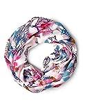 CECIL Damen Schal 570829, Mehrfarbig (White 30000), One Size (Herstellergröße: A)