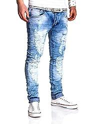 MT Styles Vintage Jeans Slim Fit pantalon RJ-2239