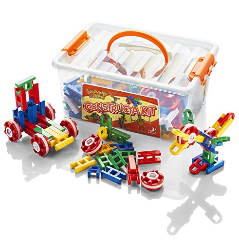 Learning Minds Constructa Kit Tub - 85 Pieces