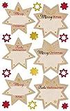 Avery Zweckform 52912 Navidad pegatinas estrellas