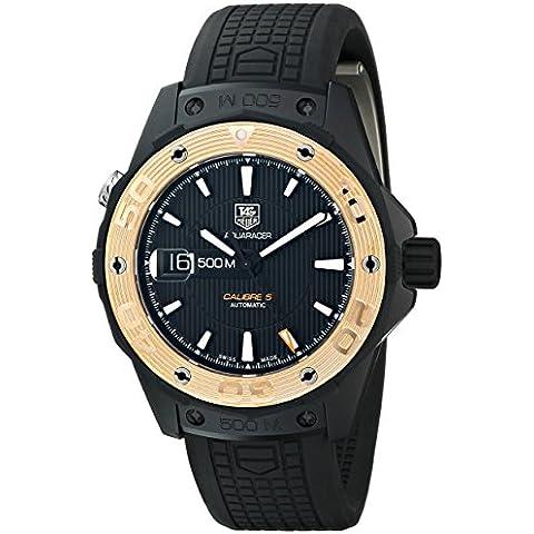 TAG Heuer de hombre WAJ2182. FT6015Aquaracer pantalla analógica Swiss–Reloj automático