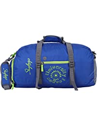 Skybags Polyester 50 cms Blue Travel Duffle (BAGFITNBLU)