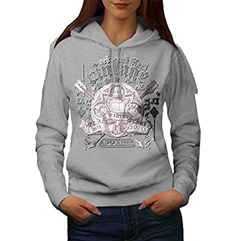 Guitare Jouer La musique Cru Vêtements T-shirts Femme XL Sweat à capuche   Wellcoda