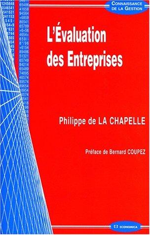 L'évaluation des entreprises par Philippe de La Chapelle