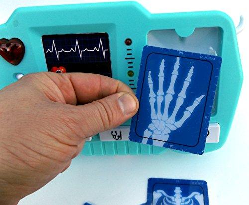 ⛑ Spielzeug EKG – und Röntgen Gerät mit realistischer Funktion- darf in keinem Spielzeug Arztkoffer fehlen ⛑ - 4