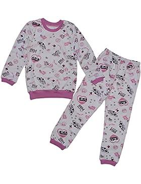 [Patrocinado]Dazoriginal Pijama dos piezas para niñas dos conjuntos de pijama Animal Patrón Mangas Largas