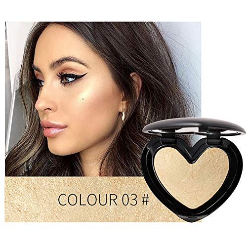 1PC Shimmer Highlighter iluminador polvo impermeable