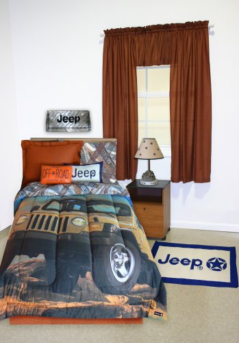 Jeep Extreme Tröster Set, baumwolle Polyester, mehrfarbig, Twin (Rost Twin Tröster)