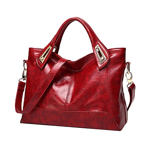 Anne - Borse a spalla donna Wine Red