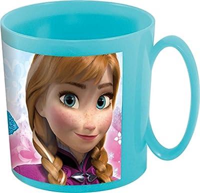 Disney Frozen Taza plastico microondas 36 cl Timeless (STOR 55704), Gris/Clair de Stor