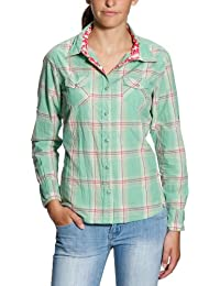 Roxy Damen Hemd Sunset Beach Plaid
