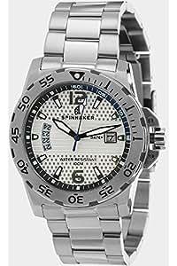 Spinnaker - SP-5007-22 - Laguna - Montre Homme - Quartz Analogique - Cadran Blanc - Bracelet Acier Gris