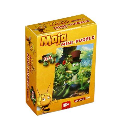 Mini-Puzzle Biene Maja von Studio 100; Motiv: Flip; 54 Teile; MEMADE000240