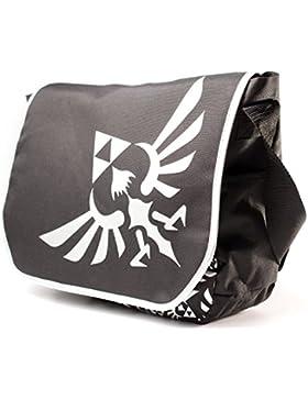 Legend of Zelda Logo Tasche Nintendo Messenger Bag Laptopfach großer Logoprint