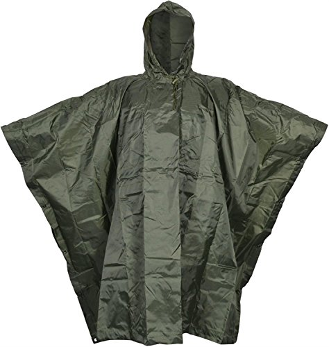 Regenponcho Rip Stop normani OUTDOOR SPORTS Gr. 144 x 223 cm Farbe Oliv