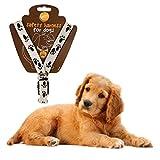 Verstellbares Hundegeschirr Pet Sicherheit, PET Loving Pfote bedruckt–Sorgen für vollständige Kontrolle über Pet