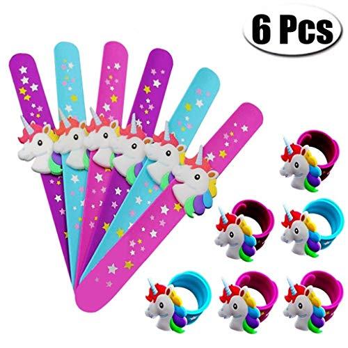 Schlag Armband silikon - armbänder Einhorn Partei liefert Kinder partygeschenke dekor sortierten Einhorn Spielzeug der Preis gaben Kinder füllstoffe geschenktasche! ()