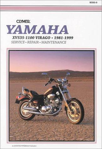 Clymer publishing the best amazon price in savemoney yamaha xv535 1100 virago 1981 1999 service repair maintenance fandeluxe Choice Image