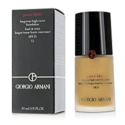 Giorgio ArmaniPower Fabric Longwear High Cover Foundation SPF 25 - 7.5 (Tan, Golden) 30ml/1oz