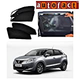 #6: Autofact Car Accessories Zipper Magnetic Sunshades for Maruti Baleno