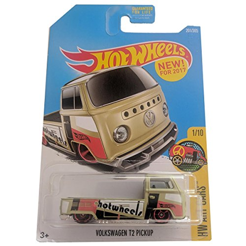 Hot Wheels Volkswagen T2 Pickup - HW Art Cars 201/365 on long card