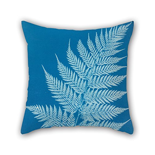 beautifulseason Oil Painting Anna Atkins - New Zealand Throw Pillow Case 18 X 18 Inches/45 by 45 cm Gift or Decor for Christmas,Husband,Son,Car Seat,Christmas,Wife - Each Side