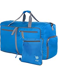 Bago Duffle Bag For Travel Luggage Gym Sport Camping - Lightweight Foldable Into Itself Duffel