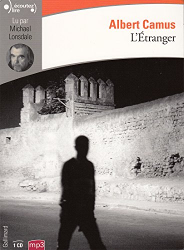 L'etranger lu par Michel Lonsdale (1 CD MP3) par Albert Camus