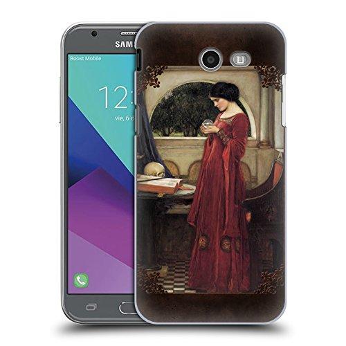 Offizielle Brigid Ashwood Wasserhaus 5 Präraffaeliten 2 Ruckseite Hülle für Samsung Galaxy J3 Emerge