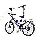 Cablematic–Halterung für Aufhängen die Fahrräder durch Seile an der Decke und Riemenscheiben -