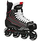 Tour Hockey Code 7 Senior Inline Hockey Skate, Schwarz, 07