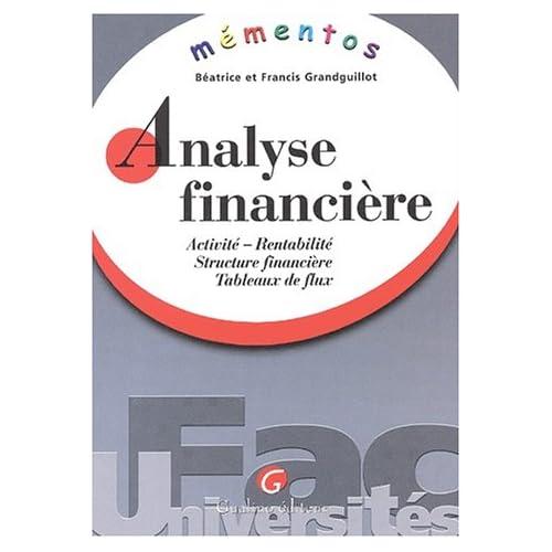 Mémento analyse financière