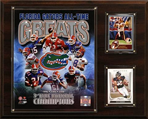 NCAA Football Florida Gators All-Time Greats Photo Plaque