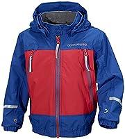 Didriksons Ivy Kid's Boys Girls Unisex Lightweight Waterproof Windproof Hooded Jacket (Pool (427), 120cm (6 - 7 yrs))