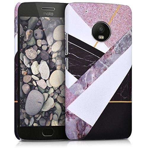 kwmobile Motorola Moto G5 Plus Hülle - Handyhülle für Motorola Moto G5 Plus - Handy Case Cover Schutzhülle