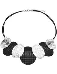 LUFA Pendentifs Femmes Collier Chaînes Tressées Alliage Perles Colliers Colliers