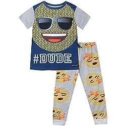 Emoji - Pijama para Niños - Emoji - 6 - 7 Años