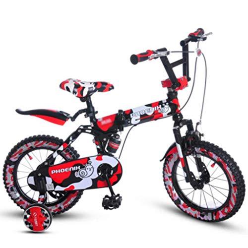 ETZXC Kinderfahrräder Jungen/Mädchen/Studenten Outdoor-Reisen Faltrad Kinder Heimtrainer Student Speed Mountainbike -14 Zoll / 16 Zoll / 18 Zoll