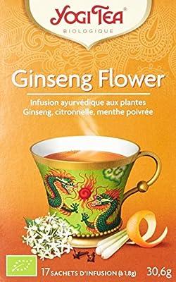 Thé Bio au Ginseng 17 sachets - Lot de 3